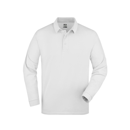 JAMES & NICHOLSON  Polo-Piqué Long-Sleeved (#JN022)