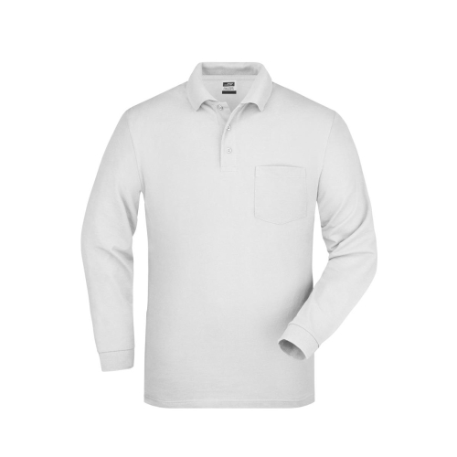 JAMES & NICHOLSON  Polo Piqué Long-Sleeved (#JN029)