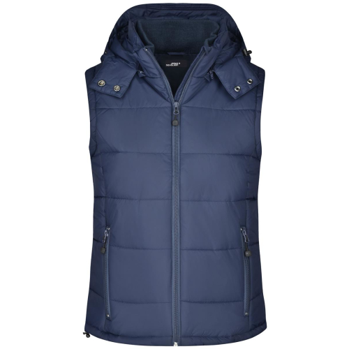 JAMES & NICHOLSON  Ladies Padded Vest (#JN1005)
