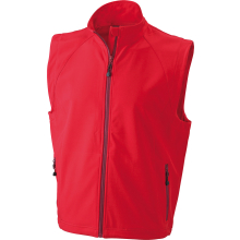 JAMES & NICHOLSON  Mens  Softshell Vest (#JN1022)