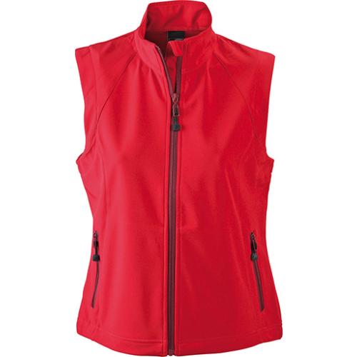 JAMES & NICHOLSON  Ladies Softshell Vest (#JN1023)