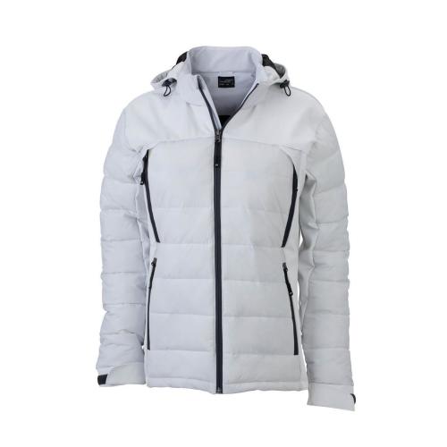 JAMES & NICHOLSON  Ladies Outdoor Hybrid Jacket (#JN1049)