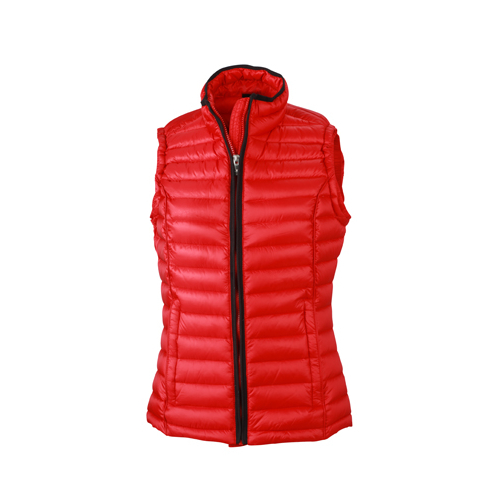 JAMES & NICHOLSON  Ladies Quilted Down Vest (#JN1079)