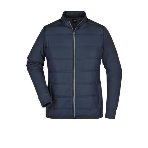 JAMES & NICHOLSON  Ladies Hybrid Sweat Jacket (#JN1123)