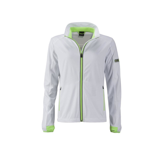 JAMES & NICHOLSON  Ladies Sports Softshell Jacket (#JN1125)