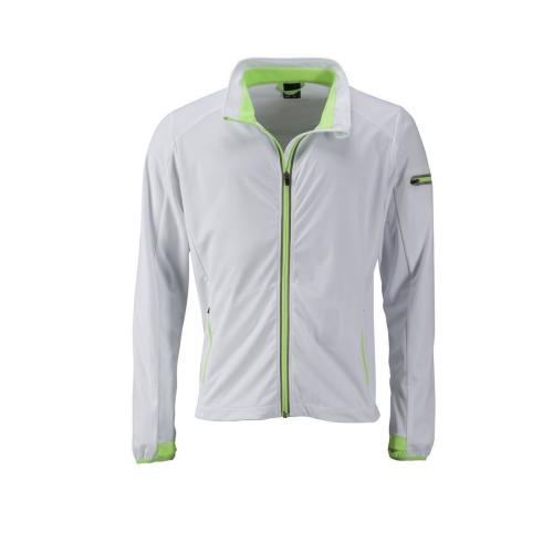 JAMES & NICHOLSON  Mens Sports Softshell Jacket (#JN1126)