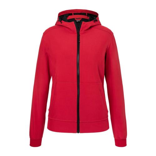 JAMES & NICHOLSON  Ladies Hooded Softshell Jacket (#JN1145)