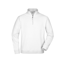 JAMES & NICHOLSON  Round-Neck Zip (#JN352)