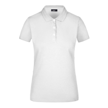 Ladies Elastic Piqué Polo