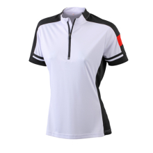 JAMES & NICHOLSON  Ladies Bike-T Half Zip (#JN451)