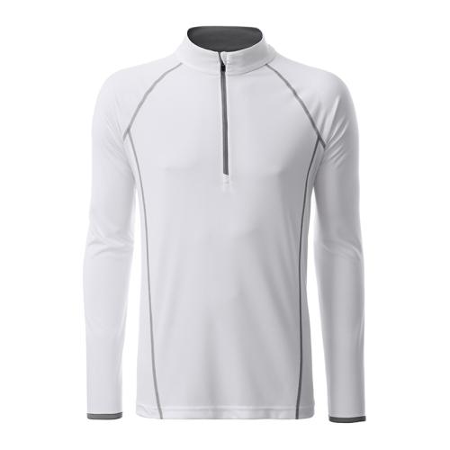 JAMES & NICHOLSON  Mens Sports Shirt Longsleeve (#JN498)
