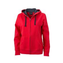 JAMES & NICHOLSON  Ladies Hooded Jacket (#JN594)