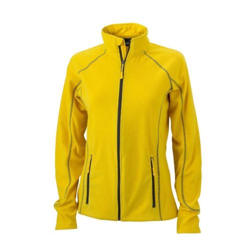 JAMES & NICHOLSON  Ladies Structure Fleece Jacket (#JN596)