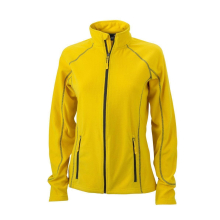 JAMES & NICHOLSON  Ladies Structure Fleece Jacket...