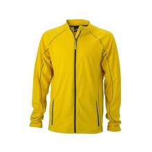 JAMES & NICHOLSON  Mens Structure Fleece Jacket (#JN597)