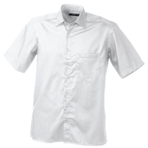 JAMES & NICHOLSON  Mens Business Shirt Short-Sleeved (#JN607)