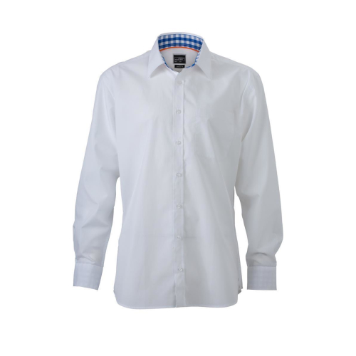 JAMES & NICHOLSON  Mens Plain Shirt (#JN619)