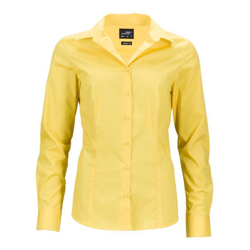 Ladies Business Shirt Long-Sleeved