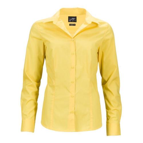 JAMES & NICHOLSON  Ladies Business Shirt Long-Sleeved (#JN641)