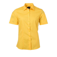 Ladies Shirt Shortsleeve Poplin