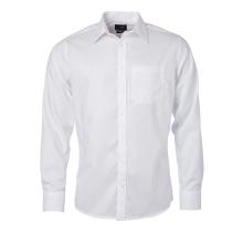 JAMES & NICHOLSON  Mens Shirt Longsleeve Micro-Twill...