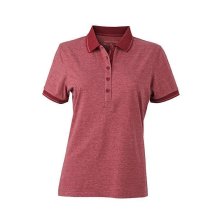 Ladies Heather Polo