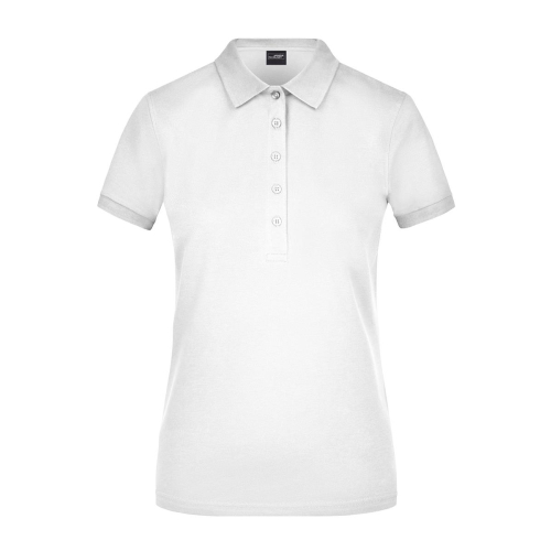 Ladies Elastic Polo Piqué