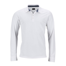 JAMES & NICHOLSON  Mens Polo Long-Sleeved (#JN714)