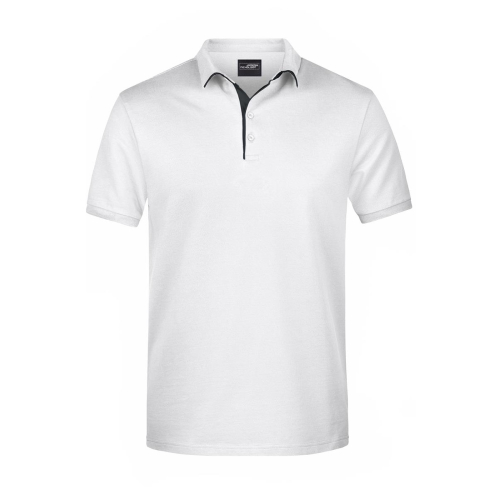 JAMES & NICHOLSON  Mens Polo Single Stripe (#JN726)