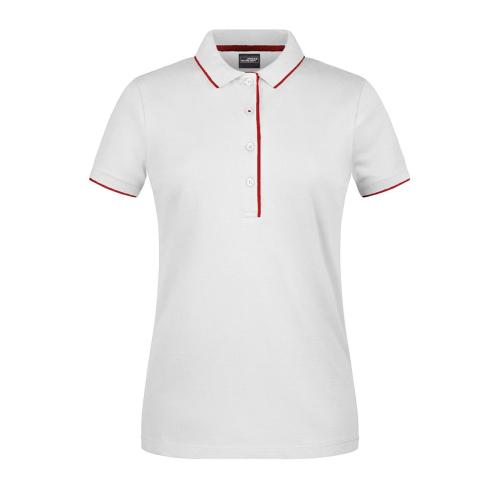 JAMES & NICHOLSON  Ladies Polo Stripe (#JN727)