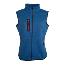 JAMES & NICHOLSON  Ladies Knitted Fleece Vest (#JN773)