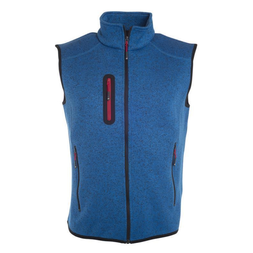 JAMES & NICHOLSON  Mens Knitted Fleece Vest (#JN774)