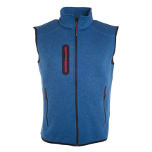 Mens Knitted Fleece Vest
