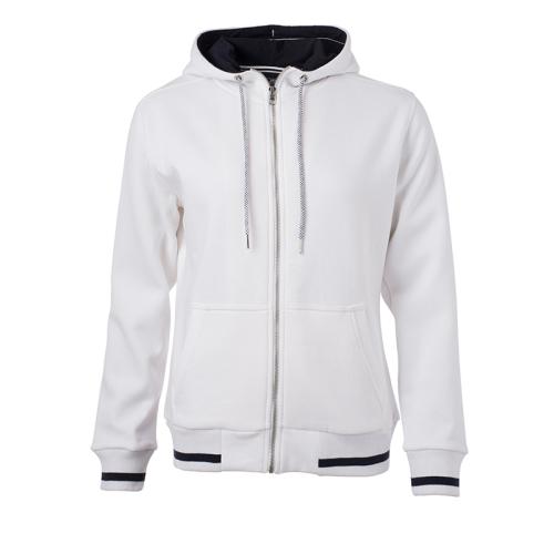 JAMES & NICHOLSON  Ladies Club Sweat Jacket (#JN775)