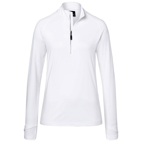 Ladies Sports  Shirt Half-Zip