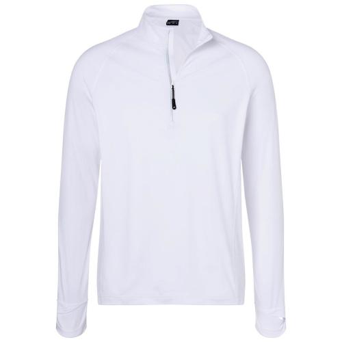 JAMES & NICHOLSON  Mens Sports Shirt Half-Zip (#JN788)