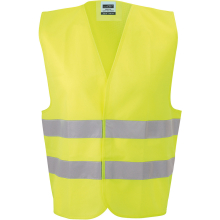 JAMES & NICHOLSON  Safety Vest Adults (#JN815)