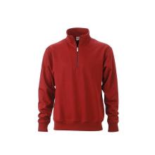 JAMES & NICHOLSON  Workwear Half Zip Sweat (#JN831)