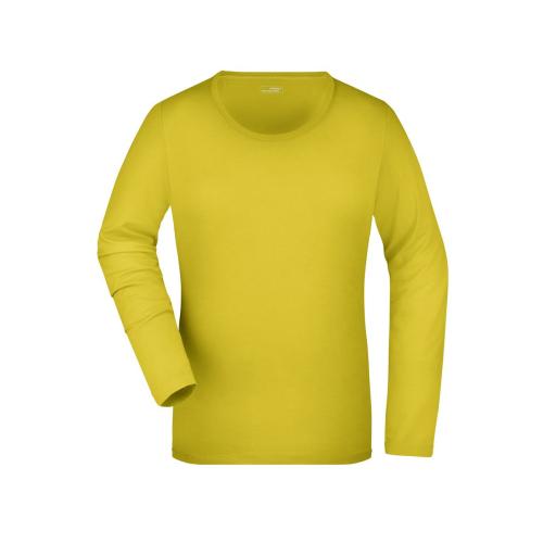 JAMES & NICHOLSON  Ladies Stretch Shirt Long-Sleeved (#JN927)