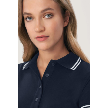 HAKRO Damen Poloshirt Twin-Stripe