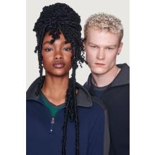 HAKRO Zip-Sweatshirt Contrast Mikralinar®