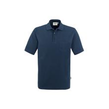 HAKRO Pocket-Poloshirt Top  Farbe: (003)marine |...