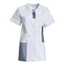 NYBO COLLAGE Damenkasack mit kurzen Ärmeln und Taschen