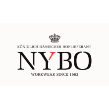 NYBO HEART-BEAT Herrenarztmantel, Stehkragen, verdeckte Knopfleiste